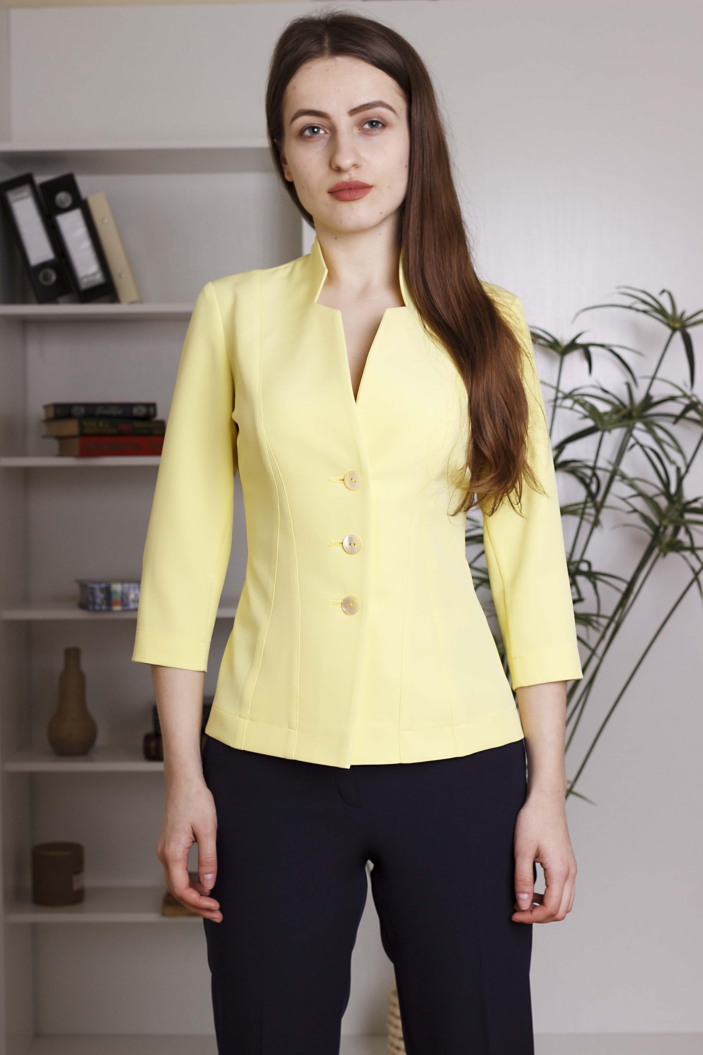 Пиджак Лимон резной
